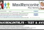 MaxiRencontre - Test & Avis