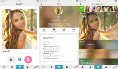 appli mobile - ios android - easy flirt