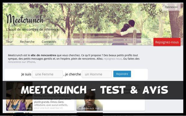 Meetcrunch - test & avis