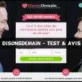 DisonsDemain - Test & Avis