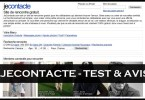 JeContacte - Test & Avis