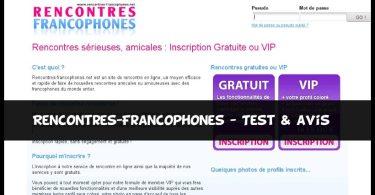 Rencontres-Francophones - Test & Avis