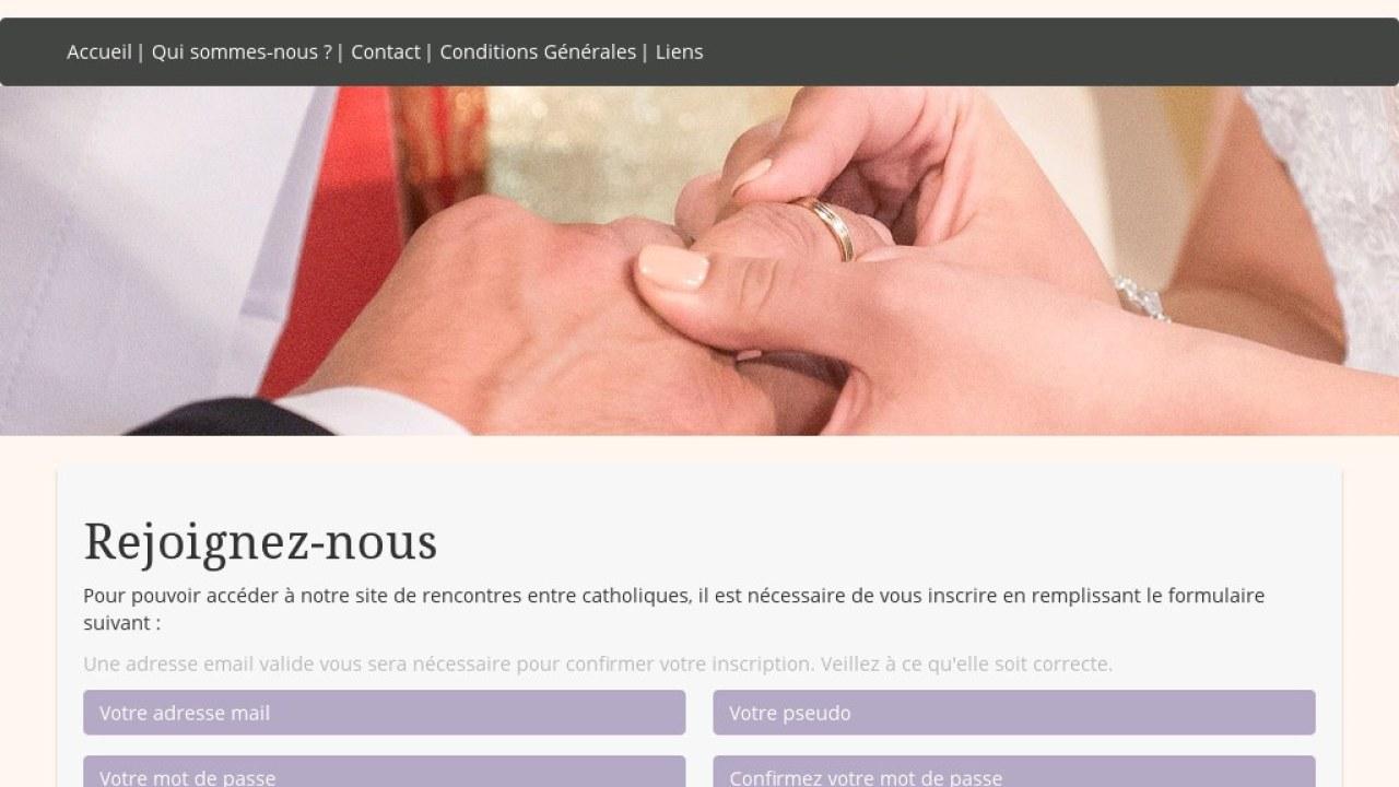 Site de rencontre catholique pour une rencontre chrétienne