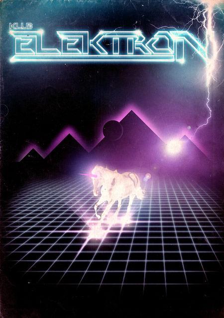 Retro futurism design example