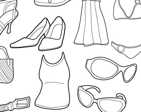 free vector doodles women