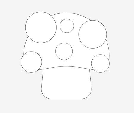 How To Create a Cute Vector Mushroom Character