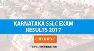 Karnataka SSLC Results 2017