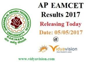 AP EAMCET Results 2017