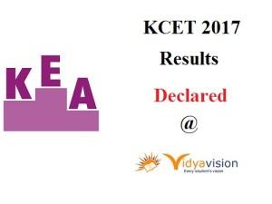 KCET 2017 Results
