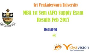 SVU MBA Supply Results