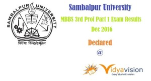 Sambalpur_university MBBS Results