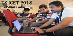 TS ICET 2018 Exam Date