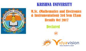 KRU MSc Results