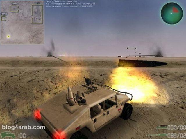تحميل لعبة حرب العراق وامريكا مجانا