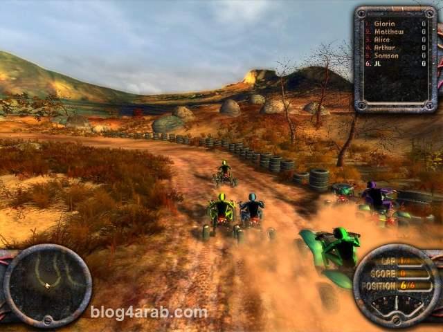 تحميل لعبة سباق الموتوسيكلات الجبلية ATV Quadro Racing