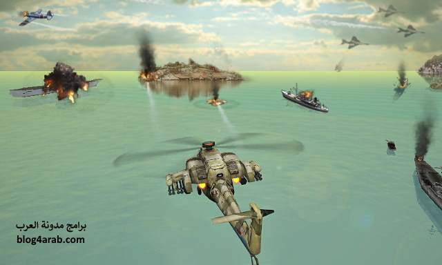 تحميل لعبة الهليكوبتر الحربية