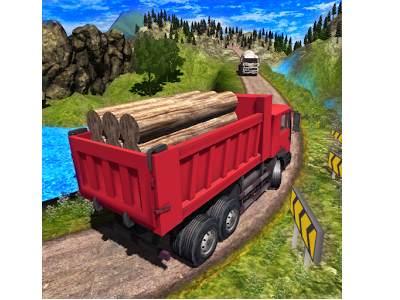 تحميل لعبة قيادة الشاحنات ونقل البضائع Truck Driver مجانا للموبايل