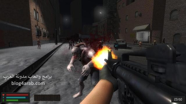 تحميل العاب مجانا للكمبيوتر لعبة هجوم وحوش الزومبى برابط مباشر