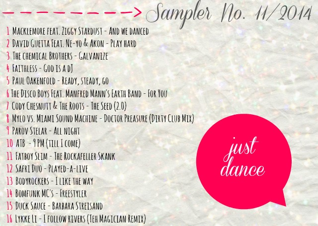 4more Sampler 112014 just dance