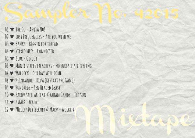 4more Sampler 42015 mixtape