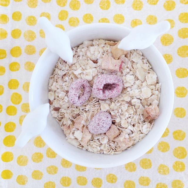 4more // Von Glücksmomenten & leckeren Bircher-Muffins // Fixes Rezept für gesunde & leckere { Bircher-Muffins} mit Birnen