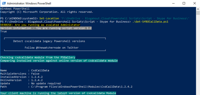 Collect Skype for Business Online call data with ease – Powershell