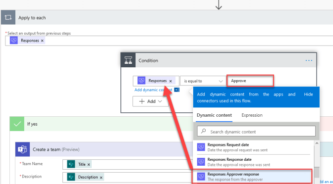 Power Automate and Microsoft Teams Tips: Approval request process for a new Microsoft Teams Team