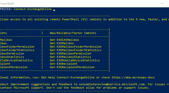 Understand how many emails have been sent or received by an Exchange Online Mailbox using Powershell