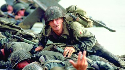 Robert Carradine, alterego de Sam Fuller en The Big Red One