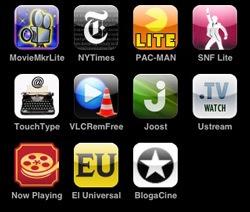 BlogaCine en tu iPhone
