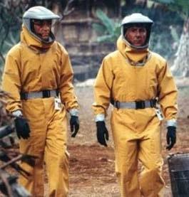 Outbreak, parecido al ébola