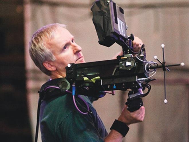 Camara virtual al hombro, Avatar, de James Cameron