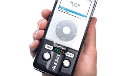 Usa tu iPod como un grabador de sonido profesional