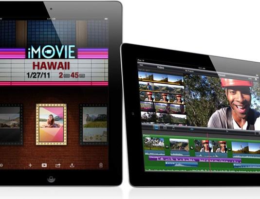 iMovie en el iPad 2, ¿sólo para aficionados?