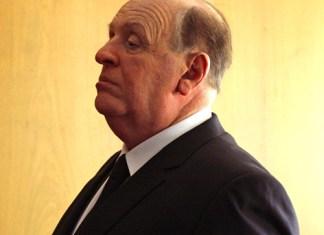 Anthony Hopkins como Alfred Hitchcock
