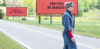 Frances McDormand y sus 3 anuncios por un crimen, en Three billboards outside Ebbing, Missouri