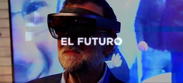 El presente virtual de Rajoy
