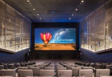 Samsung LED Cinema Screen