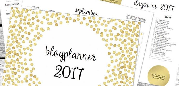 blogplanner 2017
