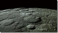 Polo Nord della Luna [credit: http://www.jaxa.jp]
