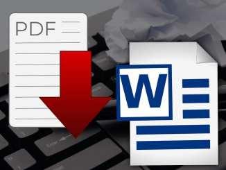 Come convertire PDF in Word