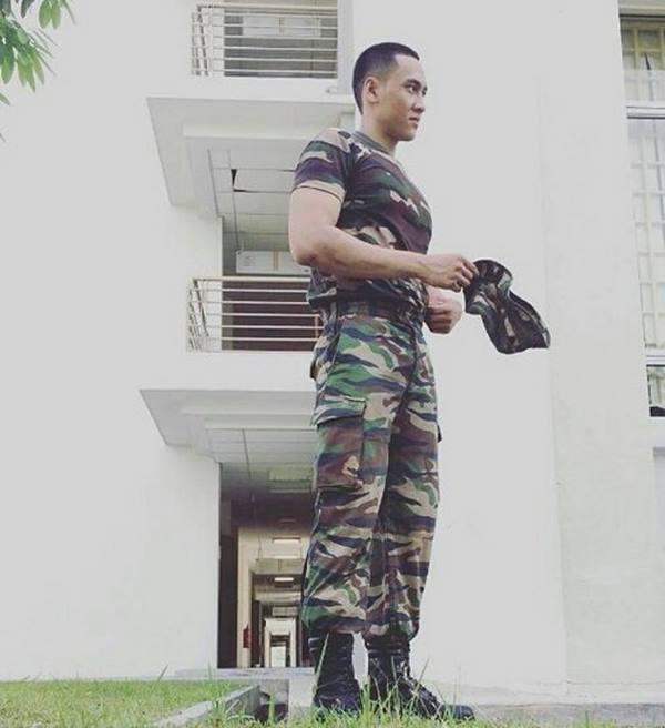 Gambar Kapten Mukhriz Yang Dulu Gemuk Kini Sado