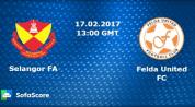 Selangor vs Felda United