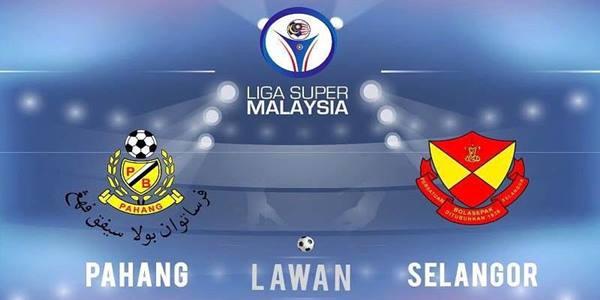 Keputusan Pahang vs Selangor