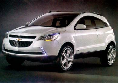 Modelo deriva do conceito mostrado no último Salão do Automóvel