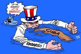 """Conhecido em Cuba como """"el bloqueo"""", o embargo imposto pelos EUA ao governo cubano em 1962, é considerado um dos mais longos do mundo contemporâneo. (Foto: Reprodução)"""