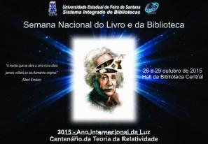 Semana Nacional do Livro: Uefs convida escolas para diversas atividades na Biblioteca Central. (Foto: Divulgação)