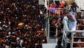 Da incerteza em 2015 para um reinado de sucesso em 2016: Igor Kannário arrastou uma multidão na pipoca no Campo Grande mais uma vez. (Foto: Lúcio Távora / Ag. A Tarde)