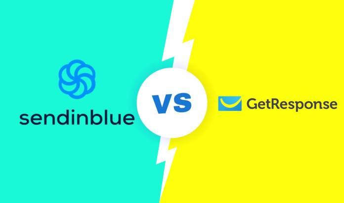 The Comparison of GetResponse and SendinBlue.
