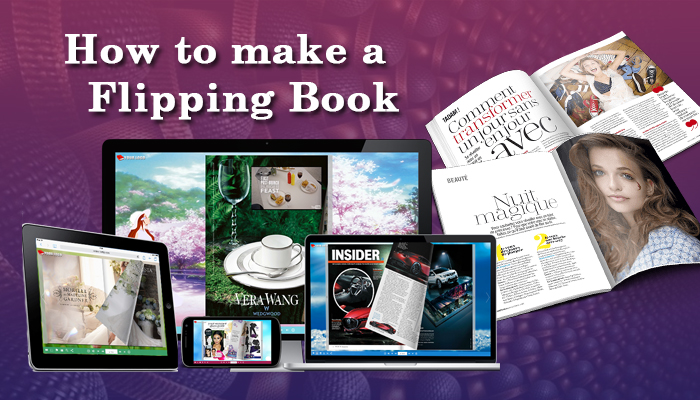 how to make a flipping book